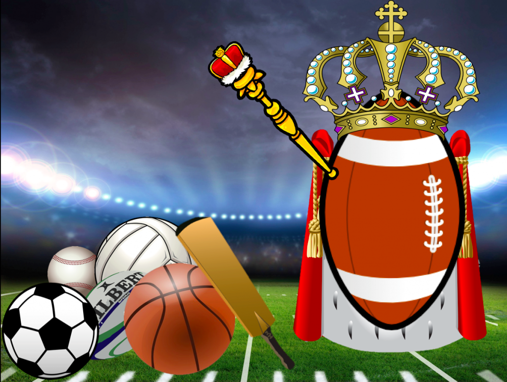 Football is King Mike Thayer